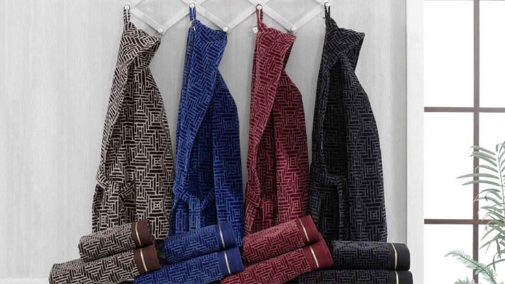 Materials And Properties Used In The Production Of The Bathrobe